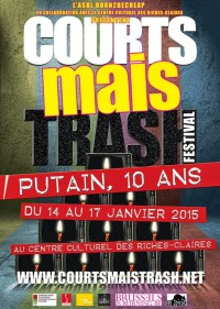 Courts Mais Trash_affiche