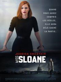 Miss Sloane affiche